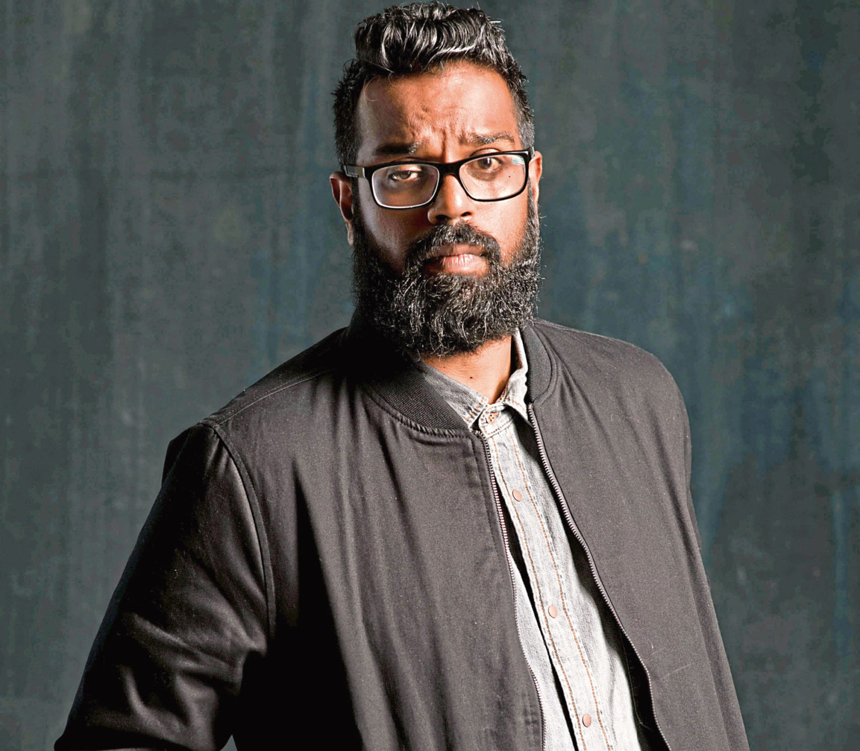 Romesh has turned his garage into a studio to film BBC Two comedy show The Ranganation