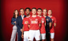 Tamla Kari, Will Arnett, Shaquille Ali-Yebuah, Jake Short, Jack McMullen, Chris Geere and Theo Barklem-Biggs in new football sitcom The First Team