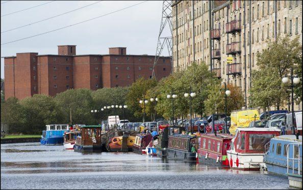 Glasgow's canal
