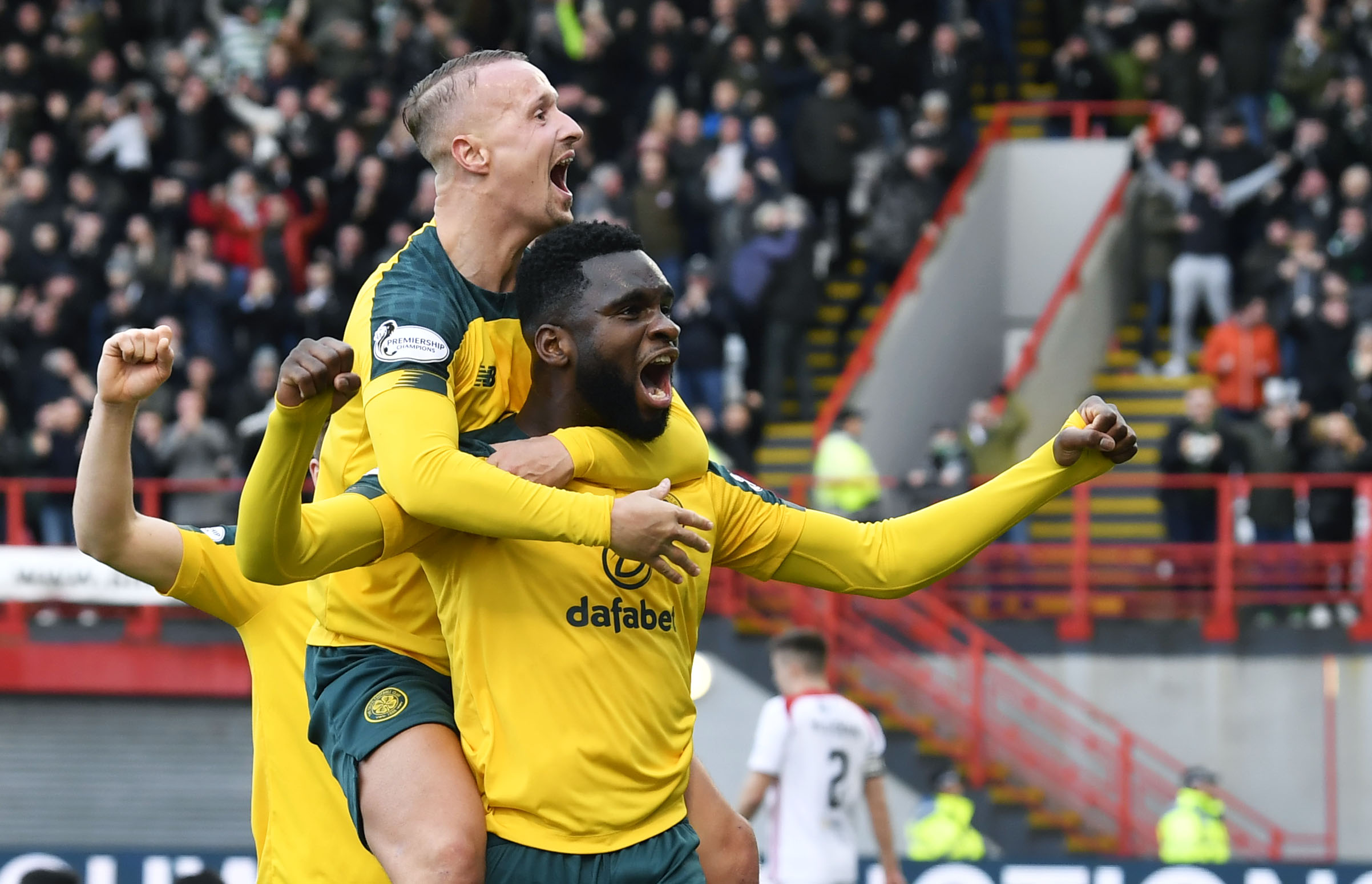 Odsonne Edouard and Leigh Griffiths have been a potent double act
