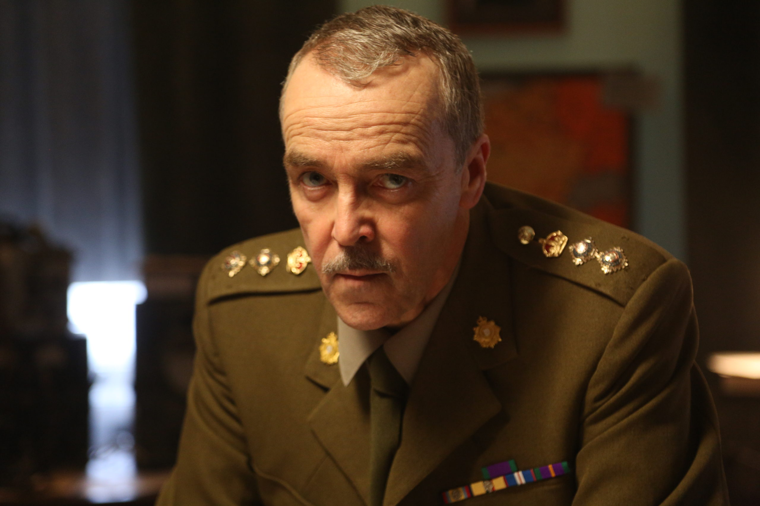 John Hannah, in Enemy Lines, has been watching blue tits