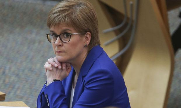 First Minister Nicola Sturgeon last week