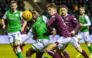 Action from March's Edinburgh derby at Easter Road