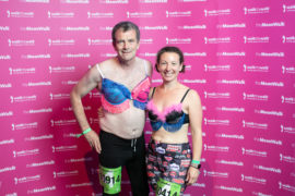 Man diagnosed with breast cancer: 'Trust the expert Covid advice and live for the moment'