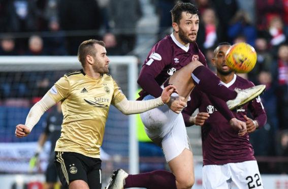 Aberdeen play Hearts back in February