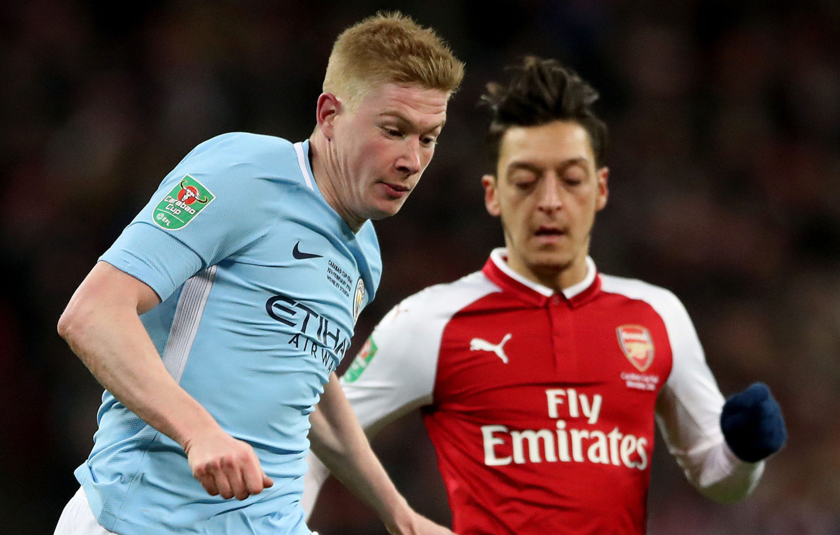 Manchester City will take on Arsenal in one of the first fixtures back
