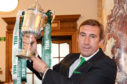 Alan Stubbs was the last non-Celtic manager to lift a trophy when he led Hibs to Scottish Cup success in 2016