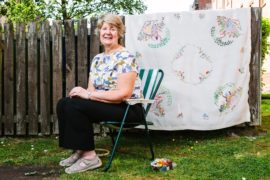 Heartwarming tale of forgotten tapestry: 60 years on and thanks to lockdown, engagement gift is finished at last