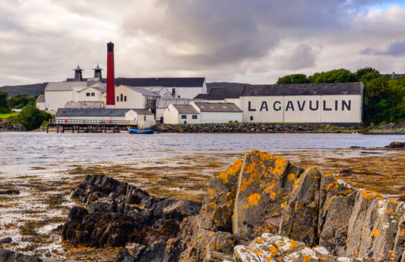 Lagavulin in Port Ellen, Islay