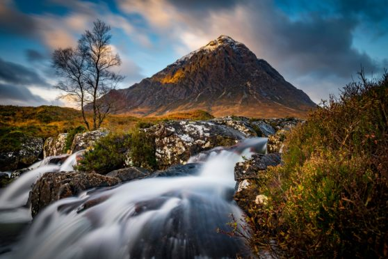Spectacular settings like Glencoe are being used as the backdrop for Highland Noir
