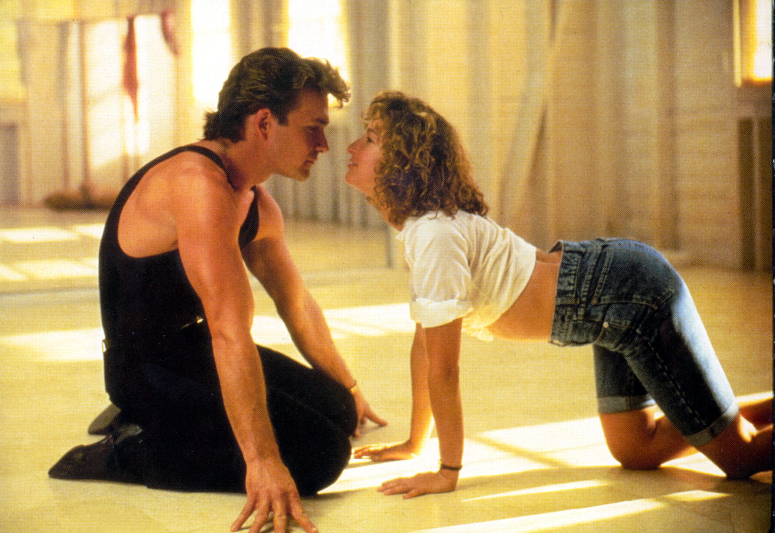 Patrick Swayze and Jennifer Grey's chemistry on-screen belied an often tempestuous relationship off-screen.