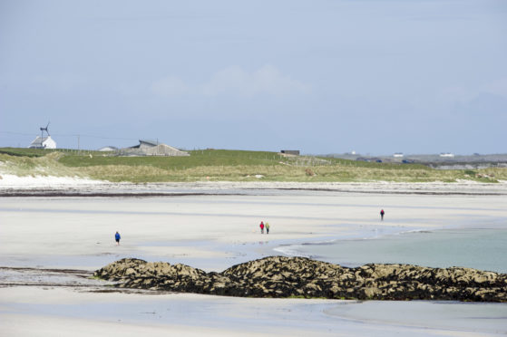 The project started life on Tiree