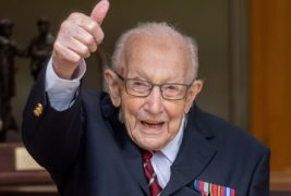 NHS fundraiser Captain Sir Tom Moore to receive knighthood from the Queen on Friday