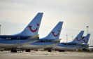 Grounded TUI planes