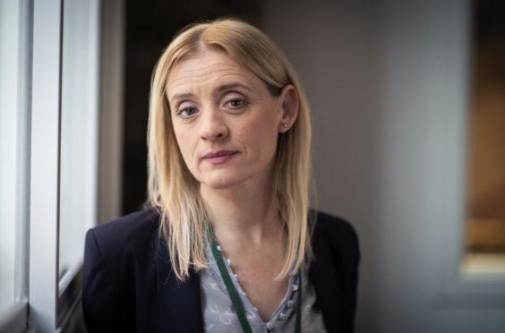 Anne-Marie Duff as public health director  Tracy Daszkiewicz in The Salisbury Poisonings