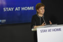 Nicola Sturgeon urged people to be cautious as she eased some lockdown restrictions