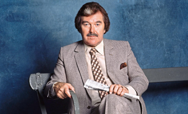 Former ITV sports presenter Dickie Davies gave Alan the bad news
