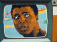 Iconic tapestry of Muhammad Ali by Archie Brennan