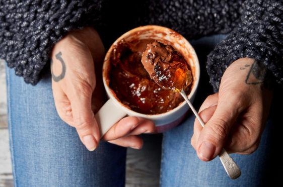 Jack Monroe's Jaffa Cake mug pudding