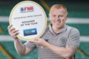 Neil Lennon picked up the Scottish Football Writers' Manager of the Year award to go with the Premiership and Betfred Cup trophies he had already lifted last term