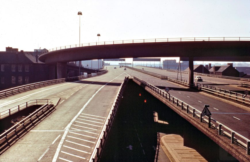 The bridge after opening