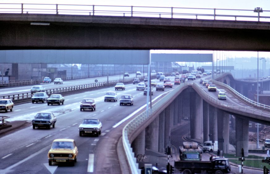 The bridge in the mid-1970s