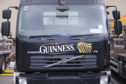A Guinness delivery truck