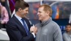 Neil Lennon looks forward to going head-to-head with Gers boss Steven Gerrard again