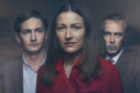 James Harkness, Kelly Macdonald and John Hannah in The Victim