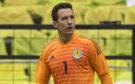 Jon McLaughlin in action for Scotland