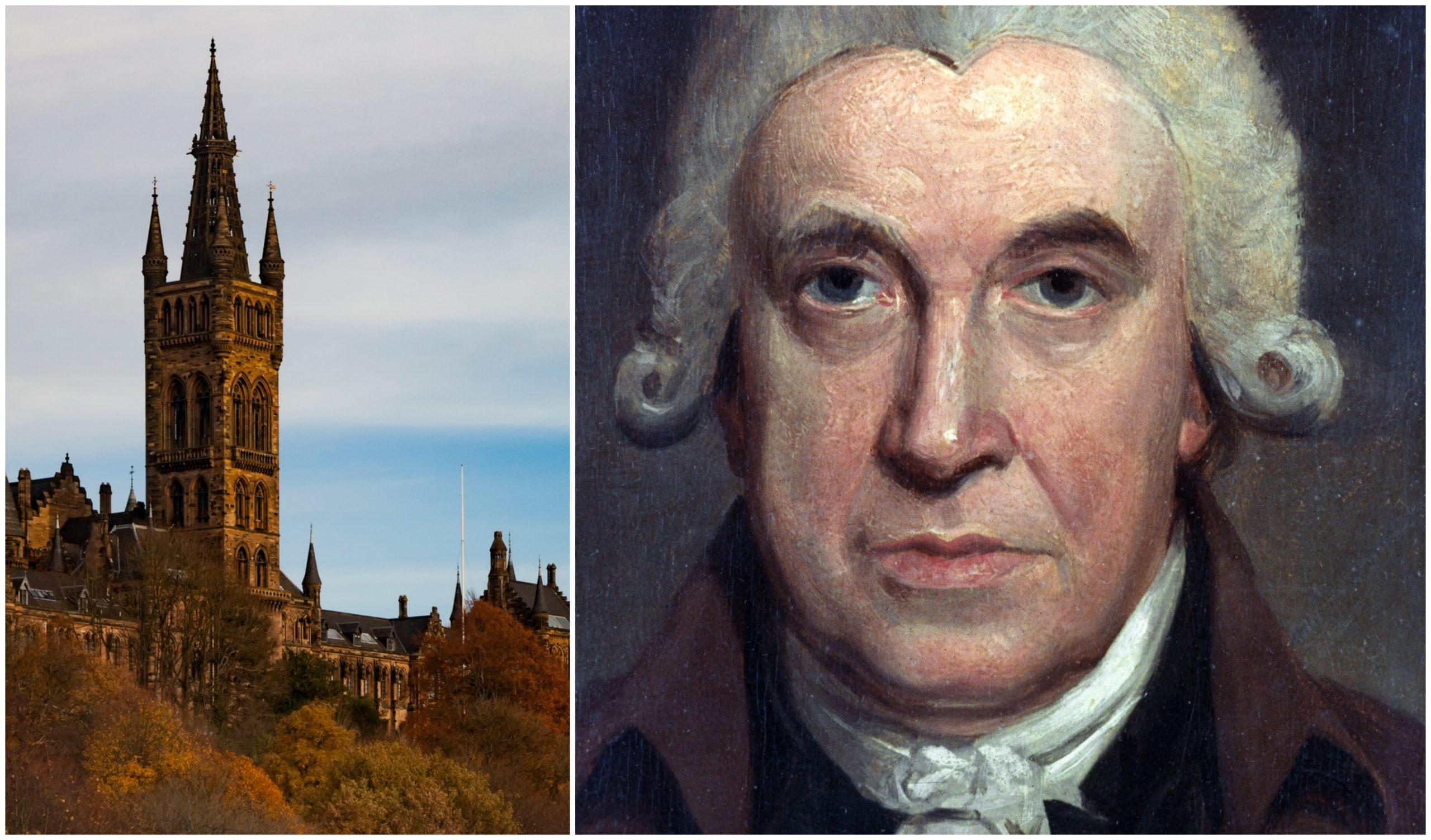 Glasgow University renamed its engineering school after James Watt