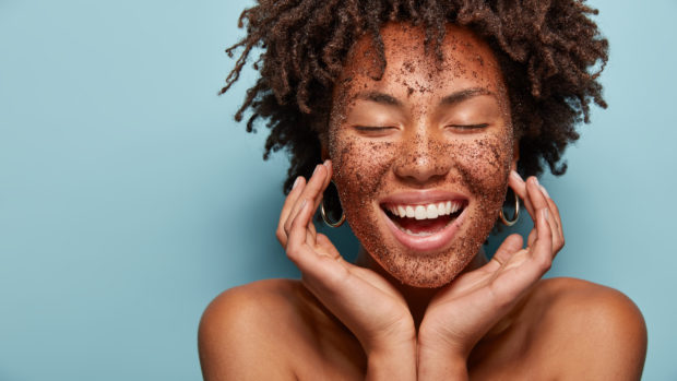 Glow ahead: Coffee grounds cleanse your skin