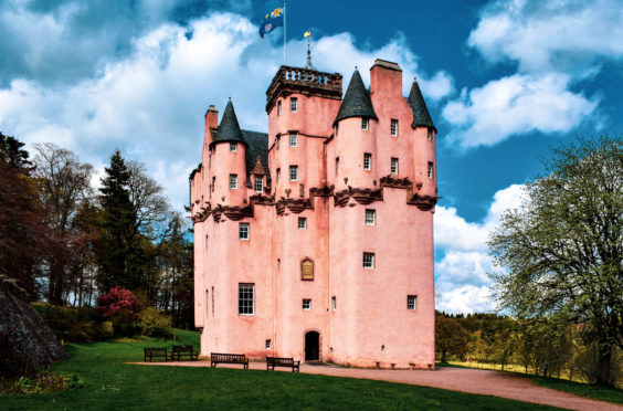Craigievar Castle is one famous site the National Trust for Scotland looks after