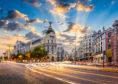 Calle de Alcala and Gran Via, Madrid