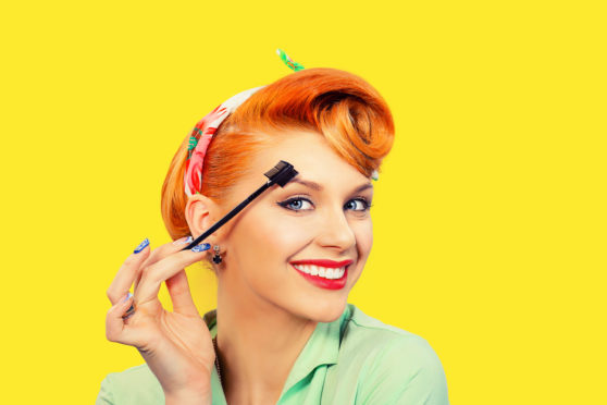Map, brush, arch, and step back for perfect brows