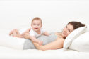 The role of touch begins with babies to convey love, with mums receiving the 'cuddle hormone' in return
