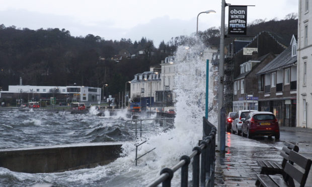 Firms in Oban have been battered as lockdown saw spending plunge