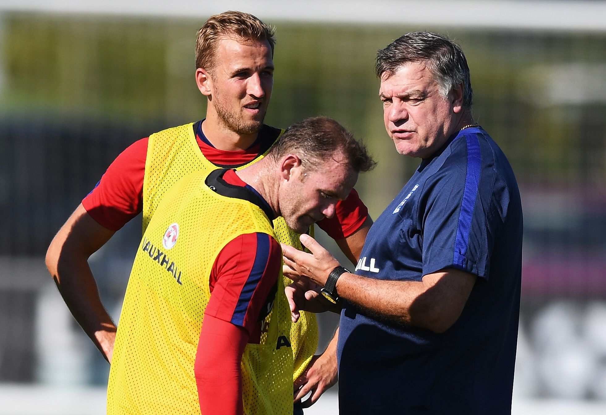 Sam Allardyce, seen with Harry Kane and Wayne Rooney while he was England manager, knew the benefits of sports psychology