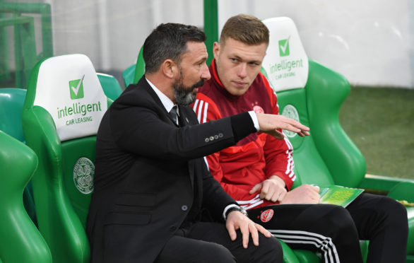 Derek McInnes has had a big influence on Sam Cosgrove