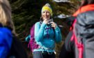 Ramblers Scotland president Lucy Wallace in Balquhidder, Perthshire