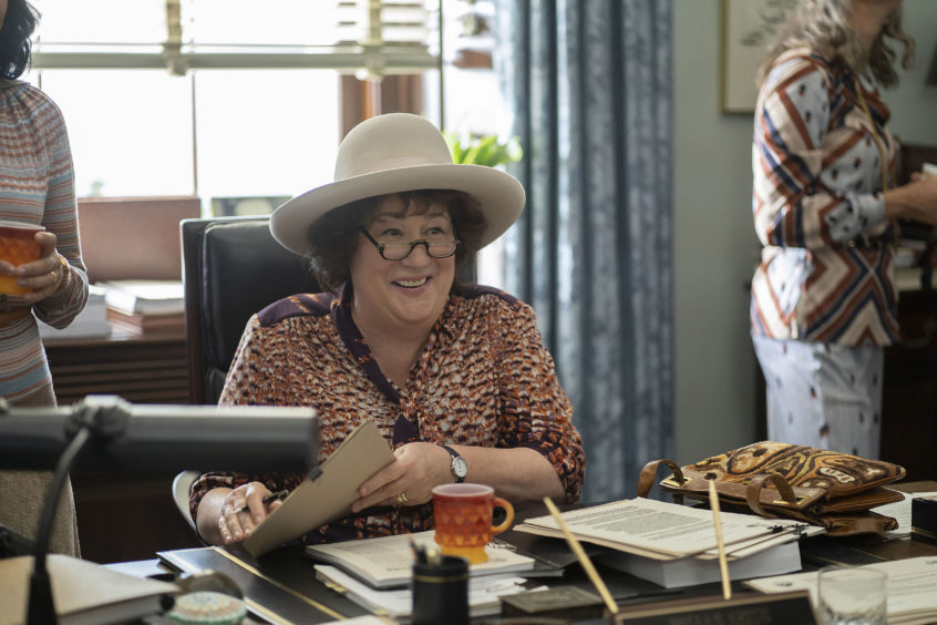 Bella Abzug (Margo Martindale) was a civil rights lawyer and Democratic congresswoman