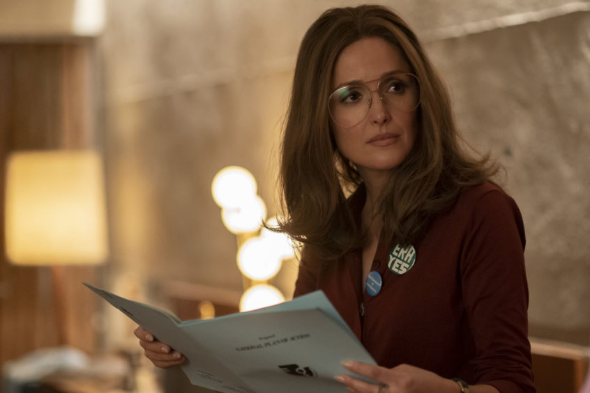 Campaigning journalist Gloria Steinem (Rose Byrne) remains one of the most influential voices in gender equality. She made her name by going undercover to expose conditions. at the Playboy Club.