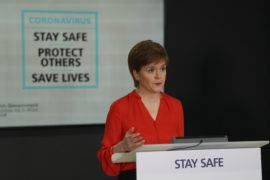 Coronavirus: Customers at pubs and restaurants shouldn't be served if they refuse to give contact details, Nicola Sturgeon says