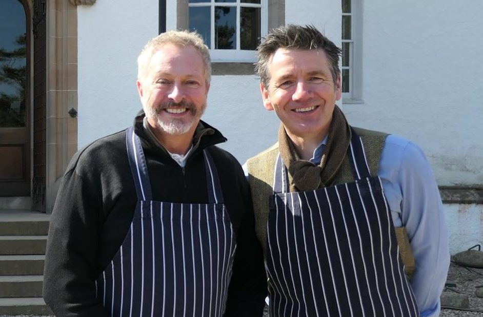 Dougie Vipond (right) with Nick Nairn last year