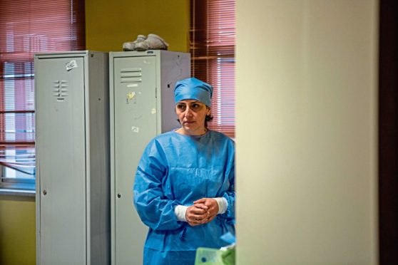Dr Francesca Mangiatordi faces impossible decisions in Italy's Frontline: A Doctor's Diary