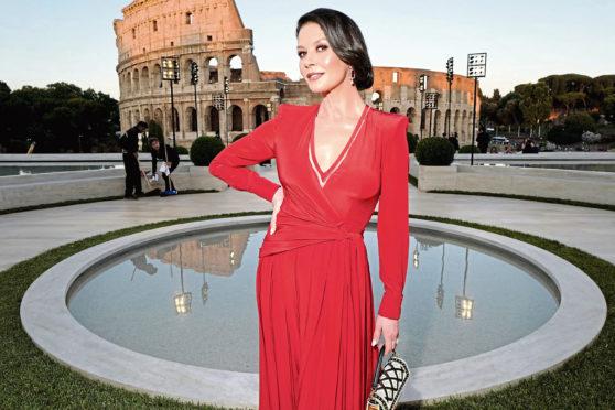 Welsh megastar Catherine Zeta-Jones
