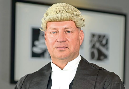 Barrister and author Chris Daw