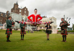 VIDEO: Crieff Hydro gives a traditional Scottish welcome as it reopens for guests