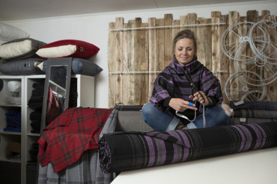 Clare Campbell, owner of Prickly Thistle.
