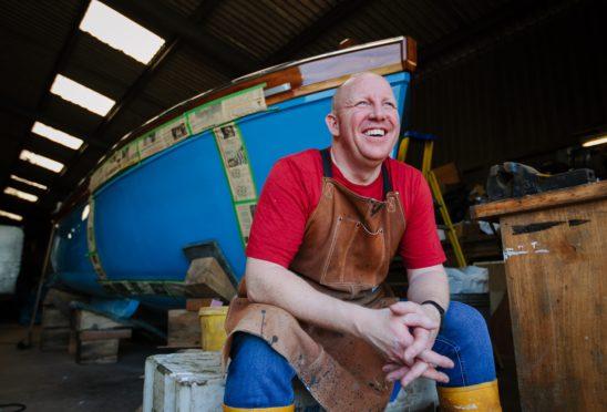 Fisherman Barry Brunton